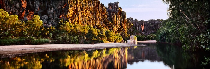 Windjana Gorge at dawn, Kimberley Region, Western Australia