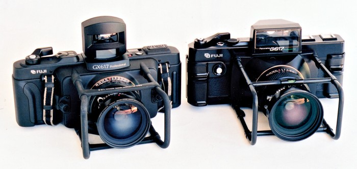 Fuji GX617 and the older Fuji G617