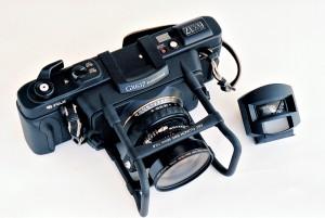 Fuji GX617 Panoramic camera top view