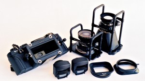 Fuji GX617 with 90mm and 180mm Fujinon lenses