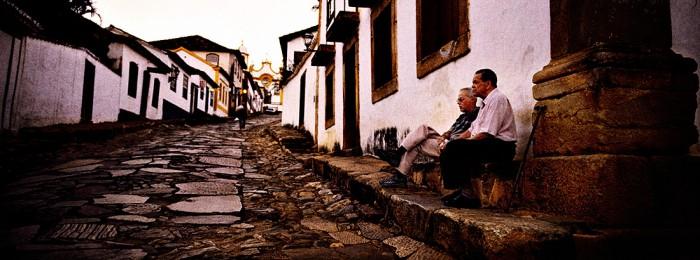 Os Amigos Velhos, Tiradentes in the state of Minas Gereis,  Brasil