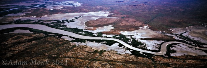 River system on the Far North Kimberley Coast, Western Australia
