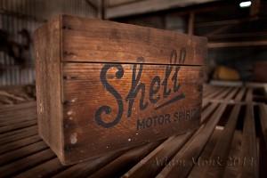Old shearing shed at Jarlmadangah Aboriginal Community, Kimberley WA
