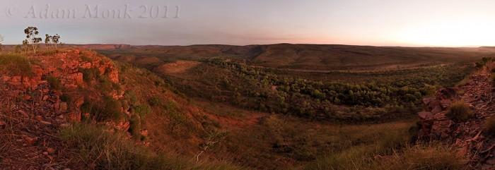 Saddleback Ridge at El Questro Station, East Kimberley