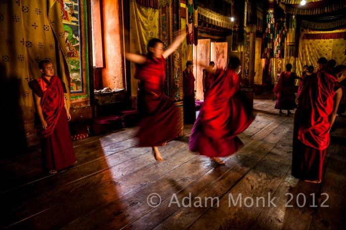 Dancing Monks of Bhutan