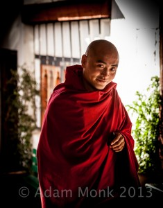 Buddhist Monk of Bhutan