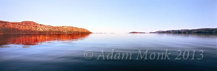 Invisible Horizon of Lake Argyle, Kimberley Region of Western Australia