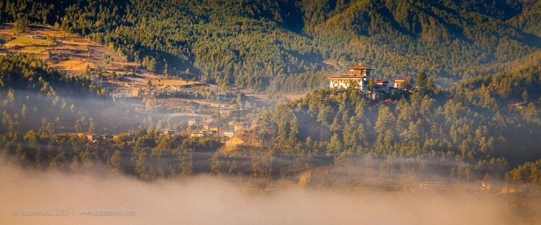 Bhutan Photography Tour, Chamkar Valley and Jakar Dzong