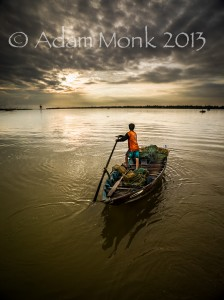Fisherman of Hoi An, Vietnam by Adam Monk 3