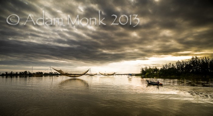 Fisherman of Hoi An, Vietnam by Adam Monk 4