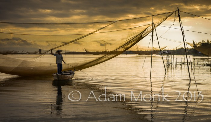 Fisherman of Hoi An, Vietnam by Adam Monk 10