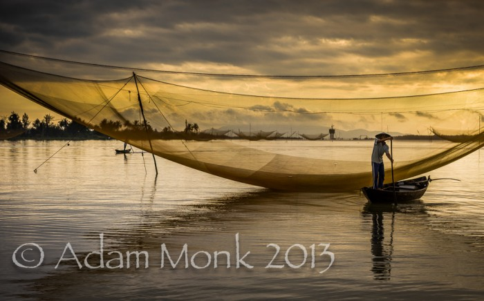 Fisherman of Hoi An, Vietnam by Adam Monk 11