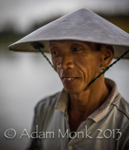 Fisherman of Hoi An, Vietnam by Adam Monk 15