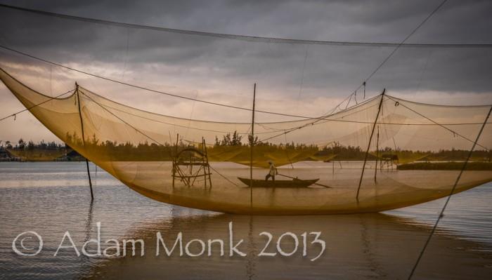 Fisherman of Hoi An, Vietnam by Adam Monk 22