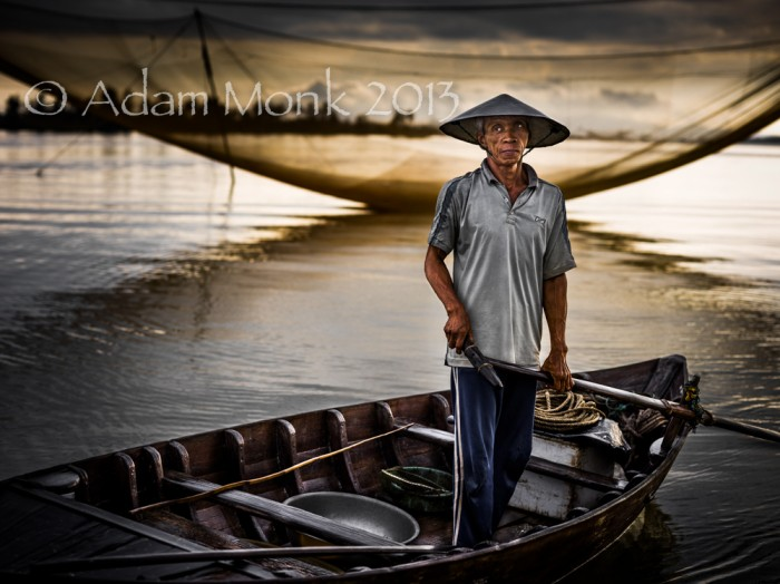 Hoi An Fisherman 1, Central Vietnam.