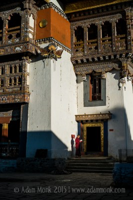 Novice Monk Bhutan