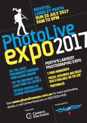 Photo Live Expo 2017 Information flyer
