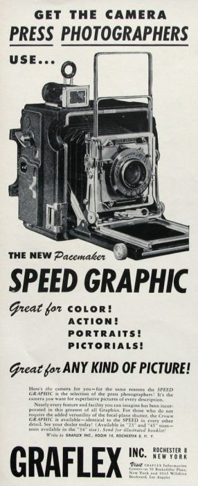 Speed Graphic technical camera