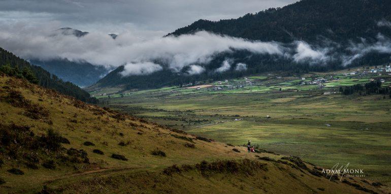 Bhutan Photo Tour, Phobjikha Valley View, Gangtey, Bhutan